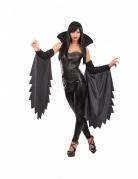 Böse Hexe Halloween Kostüm-Set für Damen