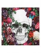 Dia de los Muertos Papierservietten Halloween-Tischdeko 20 Stück bunt 33x33cm