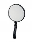 Detektiv-Lupe Detektiv-Kostuemzubehör schwarz 24cm