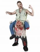 Zombie-Carry Me-Kostüm Halloween-Herrenkostüm bunt
