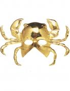 Krebsmaske für Erwachsene Krabben-Maske gold