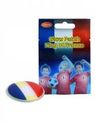 Leuchtender Frankreich-Button zum aufkleben blau-weiss-rot