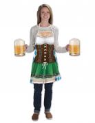 Lange Oktoberfest Schürze für Damen