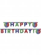 PJ Masks™-Geburtstagsgirlande Happy Birthday grün-blau-rot 2m