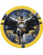 Batman™ Teller aus Karton 8 Stück bunt 18 cm