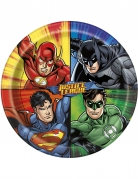 Justice League™-Teller Lizenzartikel bunt 23cm