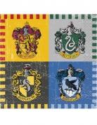 Harry Potter™ Partyservietten Tischdeko 16 Sück bunt 25x25cm