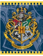 Harry Potter™ Geschenktüten Hogwarts-Wappen Lizenzware 8 Stück blau-bunt 23x19cm