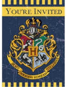 Harry Potter™ Einladungen 4 Stück