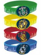 Harry Potter™ Armbänder Lizenzware 4 Stück bunt