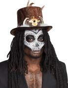 Voodoo-Hut mit Haaren für Erwachsene