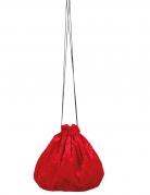Samtbeutel rot 27 cm