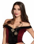 Steampunk Halskette Kostümaccessoire
