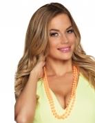 Perlenketten für Erwachsene 2 Stück pink