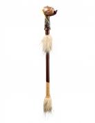 Friedenspfeife Indianer-Kostüm-Accessoire 45cm braun-beige