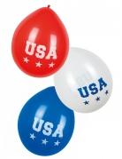 USA Luftballons 6 Stück 25 cm