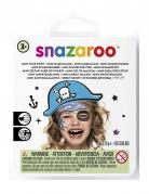Piraten-Make-up-Set Snazaroo™-Schminkset blau-weiss-schwarz