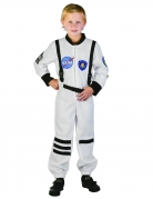 Astronauten-Kinderkostüm Raumfahrerkostüm weiss-schwarz