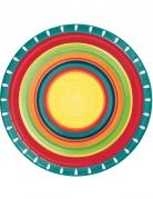 8 Pappteller Mexiko 22 cm