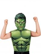 Hulk™-Kinderkostüm-Set Marvellizentartikel 2-teilig grün