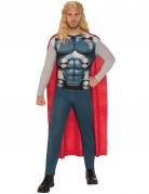 Thor™-Kostüm Marvel-Lizenzkostüm grau-rot