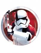 Stormtrooper-Pappteller Star Wars: Die letzten Jedi™ 8 Stück 20cm