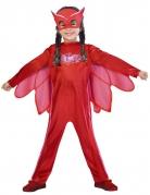 Eulette™ Kinderkostüm für Mädchen PJ Masks™ Lizenzartikel rot