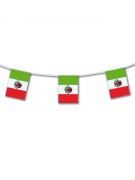 Mexiko-Girlande Partydeko grün-rot 5m