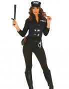 Sexy Swat Damenkostüm