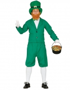 St. Patrick´s Day Kobold-Kostüm grün