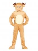 Rentier-Kostüm Maskottchen-Kostüm für Weihnachten braun