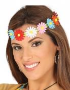 Blumen-Damenstirnband Kostüm-Accessoire bunt