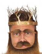 Königskrone Mittelalter Party Kostümzubehör gold