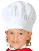 Kinder-Kochmütze weiss