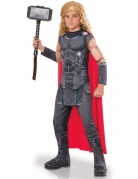 Der mächtige Thor Kinderkostüm Thor Ragnarok™ Lizenzartikel grau-rot