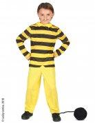 Dalton-Kostüm für Kinder Lucky Luke™-Lizenzkostüm gelb-schwarz