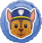 Paw Patrol™-Folienballon Chase blau 43cm