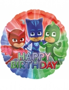PJ Masks™ Alumium Ballon Happy Birthday bunt 43cm