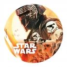 Star Wars™-Tortenaufleger Lizenzartikel silber-blau 20cm 19 g