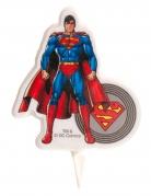 Geburtstagskerze Superman™ bunt 7,5 cm