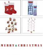Weihnachtliches Dekorations-Set