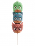PJ Masks™-Marshmallow Pyjamahelden-Süssigkeit grün-blau-rot