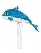 Delphin-Pinata blau 48 cm