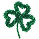 St. Patrick´s Day Kleeblatt grün 35x27cm