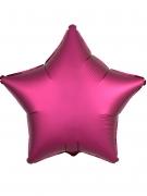 Aluminium-Luftballon - Stern - 45 cm - Fuchsia