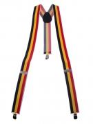 Hosenträger Belgien-Fanartikel schwarz-rot-gelb