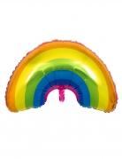 Regenbogen-Luftballon bunt 91cm