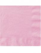 50 rosa Papierservietten 33 x 33cm