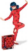 Ladybug™ Kinderkostüm für Mädchen Miraculous™ Lizenzartikel rot-schwarz