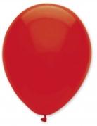 6 Luftballons rubinrot 30cm